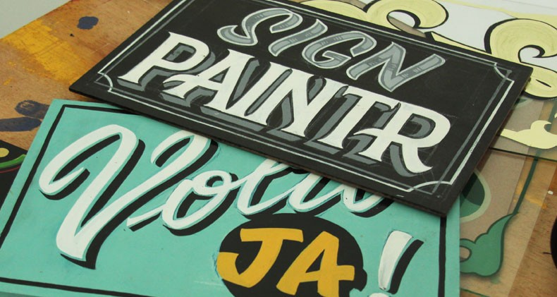 Sign-Painting